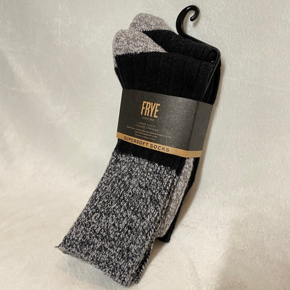 Frye Supersoft Boot Socks 2 Pairs